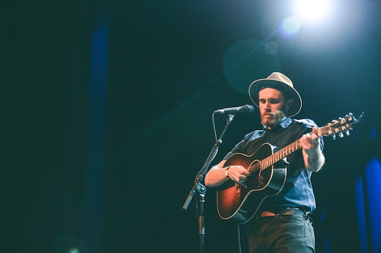 James Vincent McMorrow at the Vogue Theatre, Vancouver