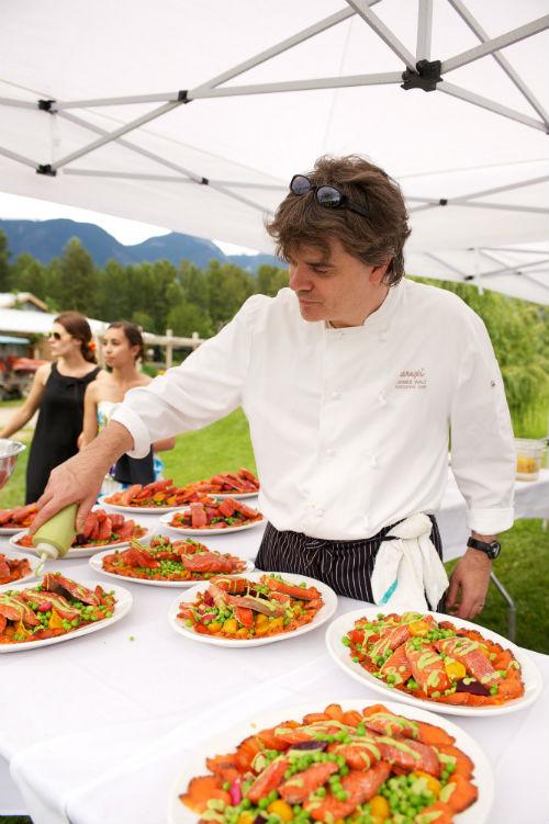 Araxi executive chef James Walt   Photo credit David Buzzard
