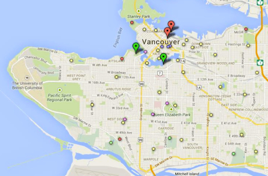 From City of Vancouver (link to actual map not available)