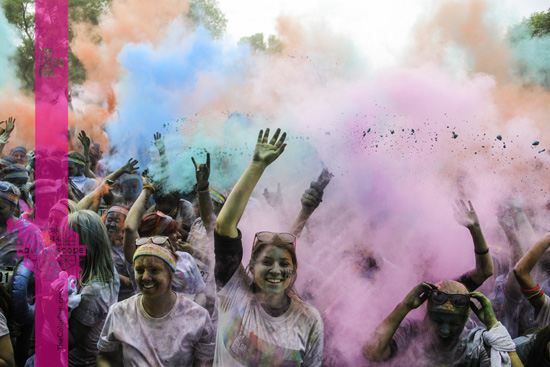 Colour Run Photo: Montreal Colour Run 2014