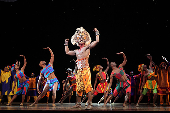 He Lives in You from THE LION KING National Tour (c)Disney | Photo: Joan Marcus