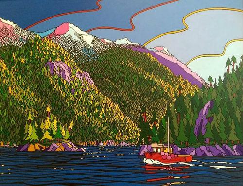 Michael Tickner's Drawn To The Light   Pousette Gallery  Photo from ArtWalk website