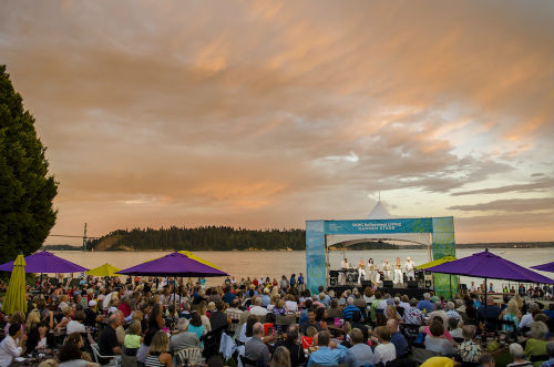 Waterfront lounge and concert | Photo courtesy Harmony Arts Festival