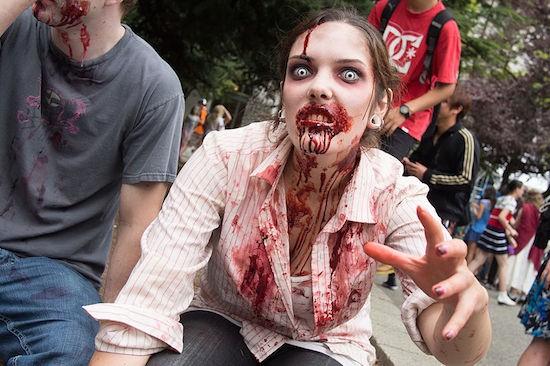 Vancouver Zombiewalk 2017