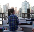 photo: Fraser Jones in False Creek