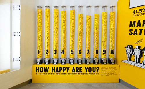 Image courtesy of Sagmeister & Walsh