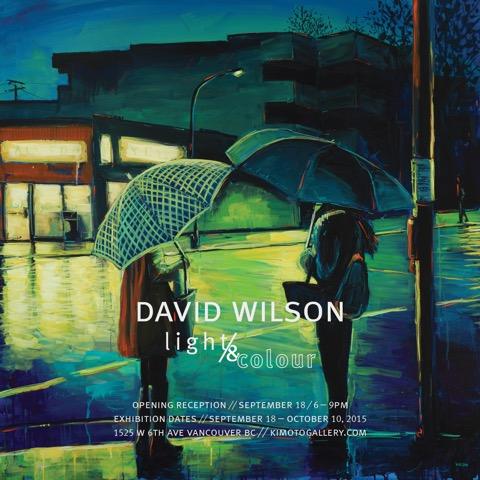 DAVID WILSON Light and Colour evite