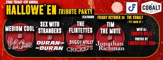 Halloween Tribute Party