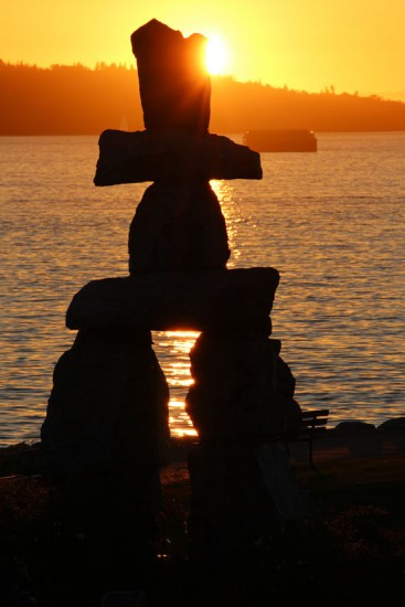 Inukshuk English Bay