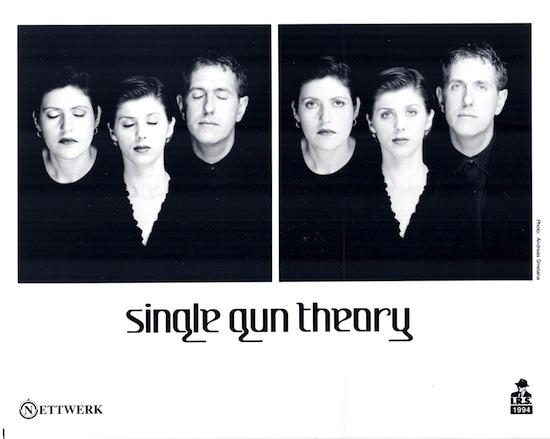 A publicity photo of Single Gun Theory.