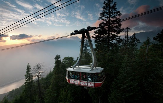 Photo: Grouse Mountain