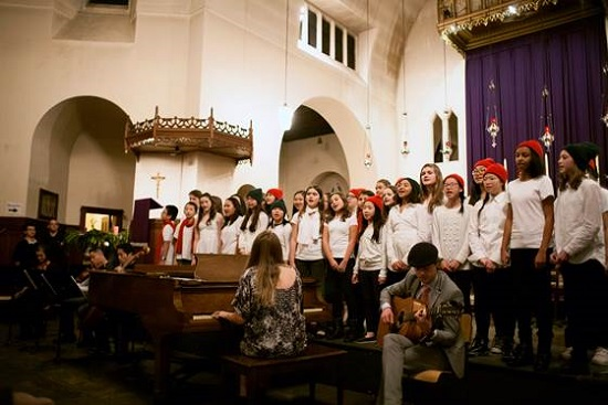 S. James Academy Choir.