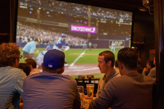 You can catch the NFL action at the Butcher & Bullock. Photo courtesy the Donnelly Group.