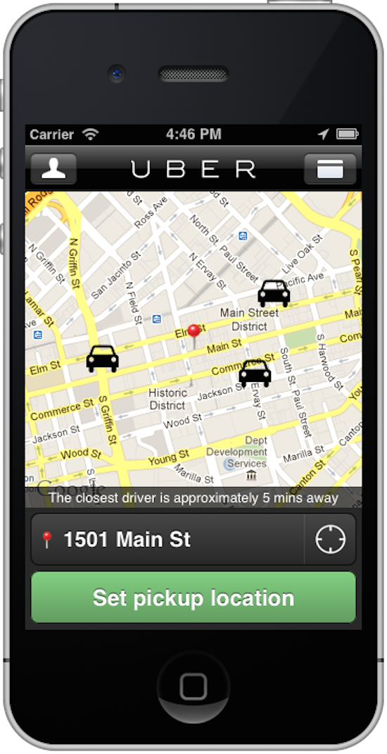 Dallas-Uber-Car-Screenshot