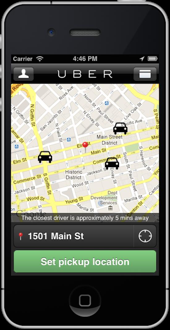 Dallas-Uber-Car-Screenshot