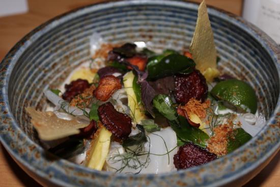 The vegetarian laksa