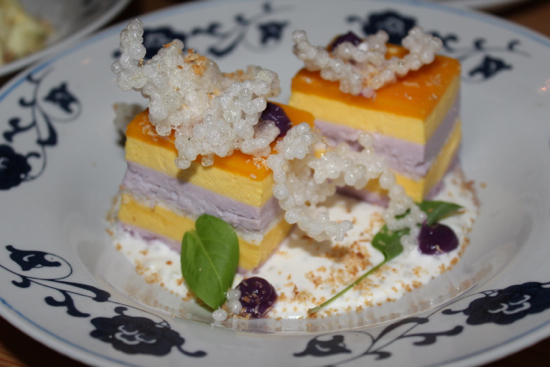 The mango mousse