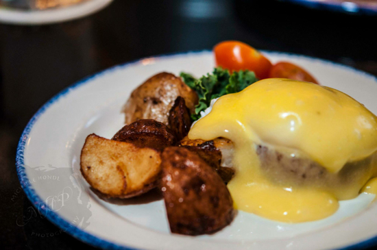A crab cake Benny from one of last year's brunch crawls (sourced from Vancouver Foodster's website).