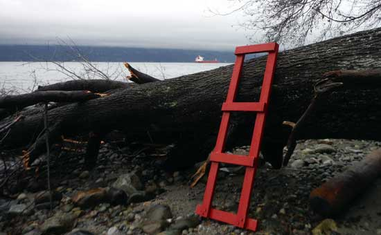 Discover Outdoors Wreck Beach Ladder