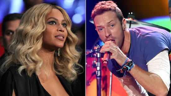 The Rio Theatre was kind enough to put together this mashup of Super Bowl 50 half-time performers Beyoncé Knowles and Chris Martin of Coldplay.