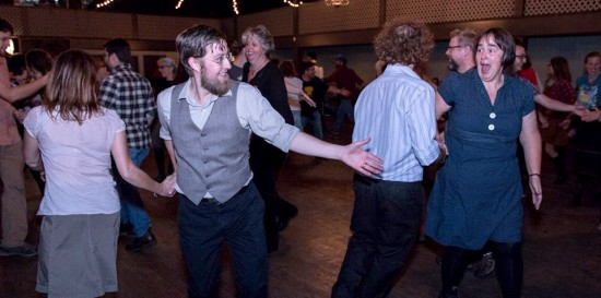 Square Dance at the Wise Hall