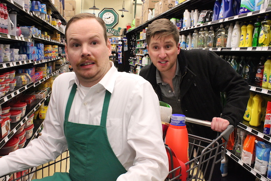 Grocery Store Action Movie by Jordan