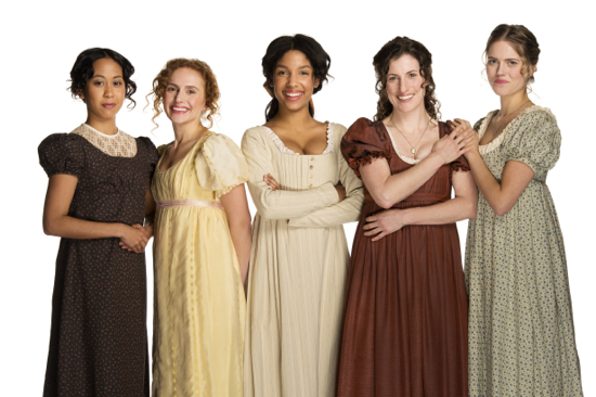 Cast of Pride & Prejudice. Photo by David Cooper.