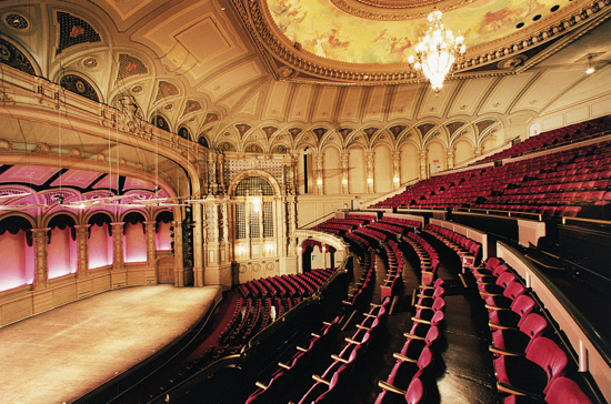 The Orpheum: Sourced from the VSO