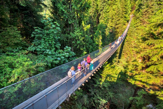Family Day Special at Capilano
