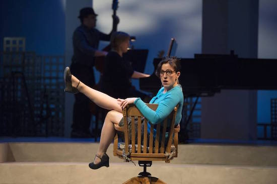 Caitriona Murphy in Closer Than Ever. David Cooper photo.