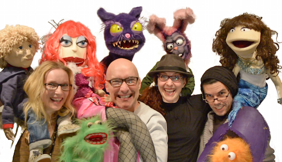 Cassady, Morris Chapdelaine, Tara Travis and Dusty Hagerüd have joined forces to create the Vancouver International Puppet Festival.
