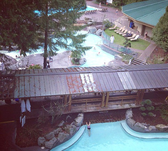 Harrison Hot Springs Resort & Spa Pools | Photo: Bianca Bujan
