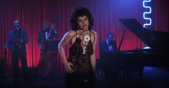 Isabella Rossellini in David Lynch's Blue Velvet.
