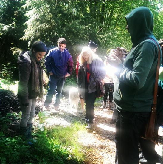 An herb walk in Stanley Park | Photo credit: Bronwen Erickson @birchwoodherbals