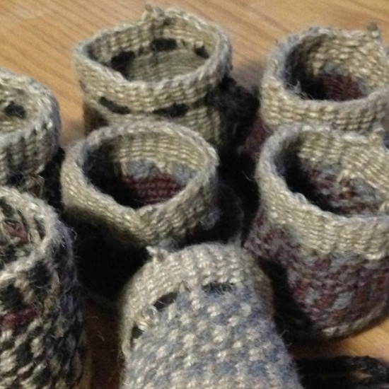 Jute and Wool Basketry Class