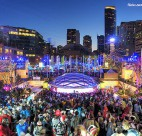 Robson Square during the 2010 Olympics. Photo credit: Tim Shields | Flickr