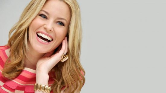 Elizabeth Banks is in town to play the villain Rita Repulsa in the big-screen reboot of the Power Rangers.