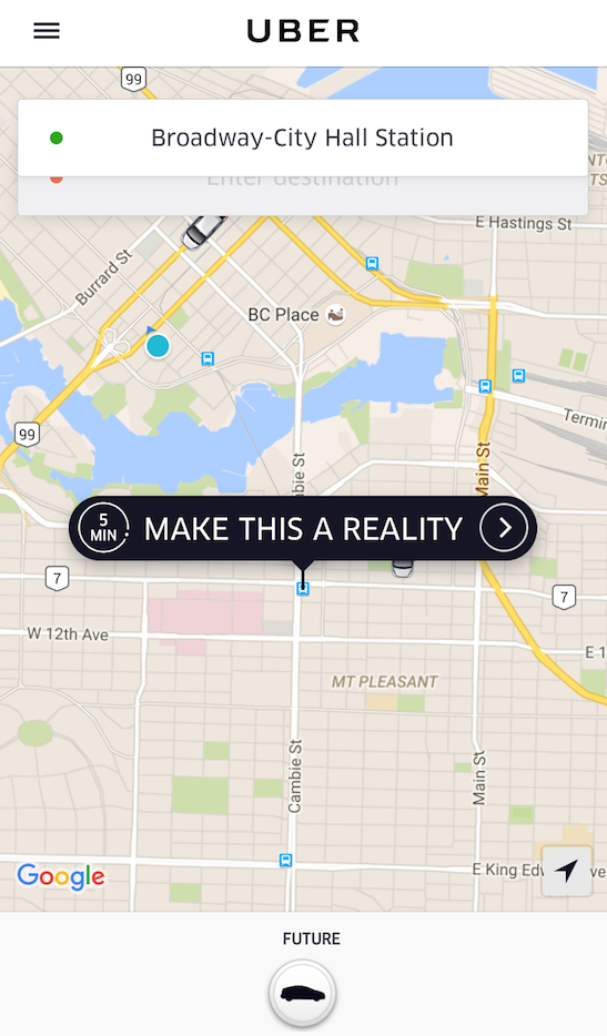 uber looking for drivers in vancouver but don t pick up. Black Bedroom Furniture Sets. Home Design Ideas