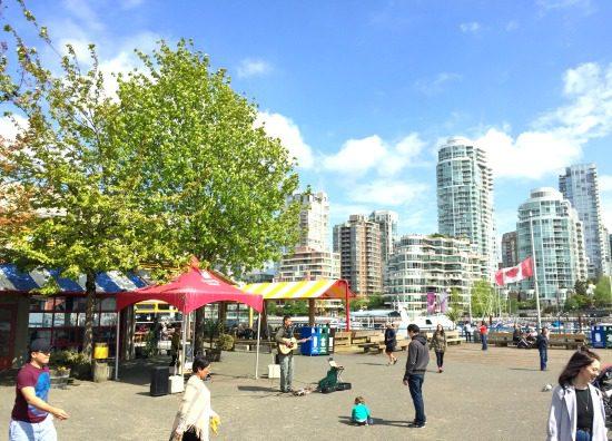 Granville Island Public Market Courtyard | Photo: Bianca Bujan