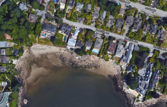west vancouver beaches