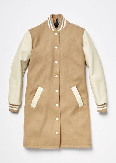 19020093 Long Sorority Jacket Camel