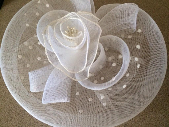 My fascinator from last year (I'm going to go crazier this year!)