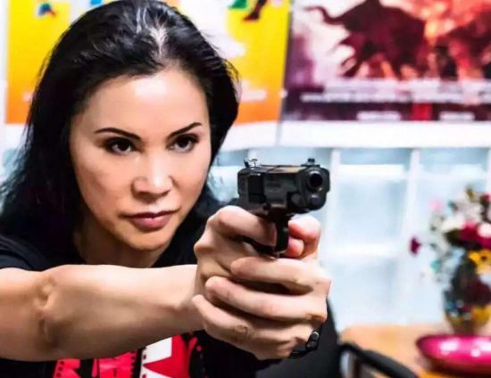 Demi Zhang codirects and stars in the Chinese Canadian movie Hot Street.