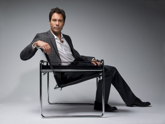Eric McCormack goes sci-fi in the new series Travelers.