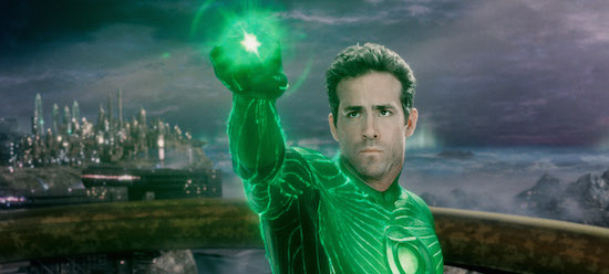 Ryan Reynolds stars as the titular character in 2011's Green Lantern.
