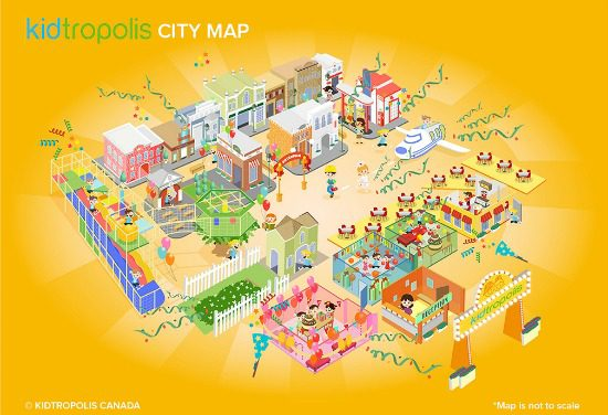 Kidtropolis City Map