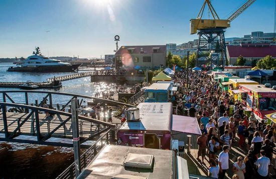 Shipyards Night Market | Photo: Vancouver's North Shore