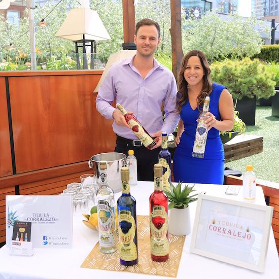 Kye Melchert & Sarah Hirjee, agents for Tequila Corralejo.