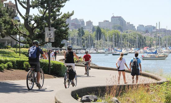 Out and About Walking Tour: South False Creek Sea Wall