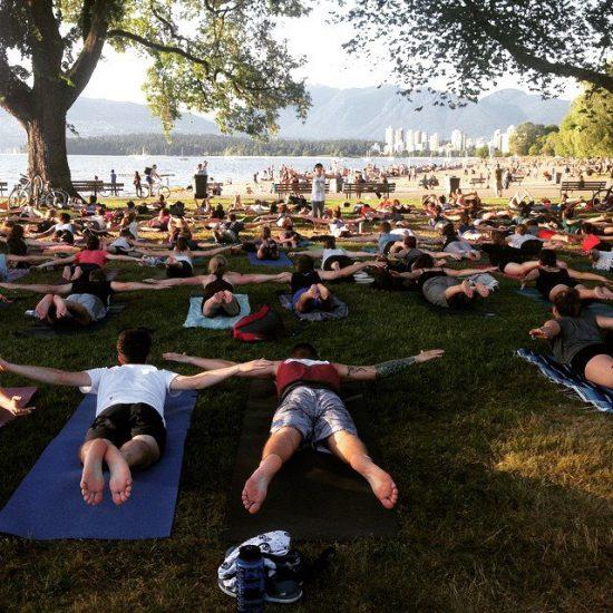 free yoga vancouver 2016